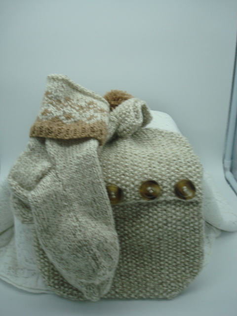 Hot Water Bottle Cover and Bed Socks