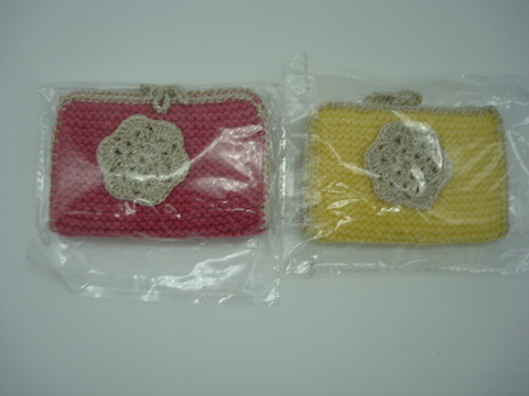 Hand Made Knitted and Crotcheted Needle Cases