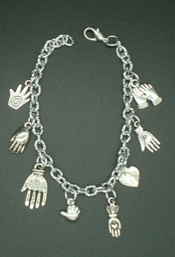 BSL Hands of Friendship Charm Bracelet
